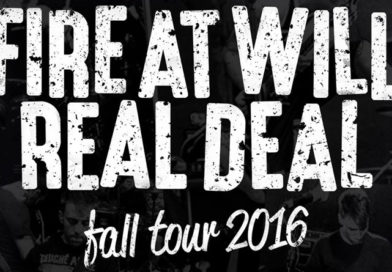 Fire at Will ~ touring in Europe w/ Real Deal. Fall 2016